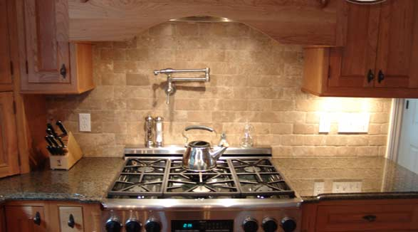 Slate Backsplash Tiles For Kitchen