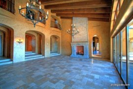 Huge Tile Living Room