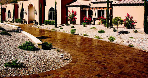 Driveways tile everything there is to know about tile for Tile driveway