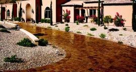 Stone Tile Driveway