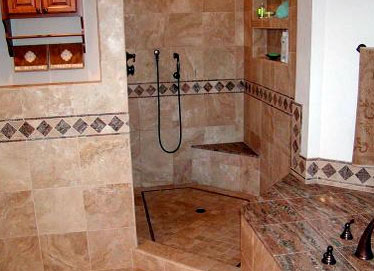 Walk-in Shower Tile